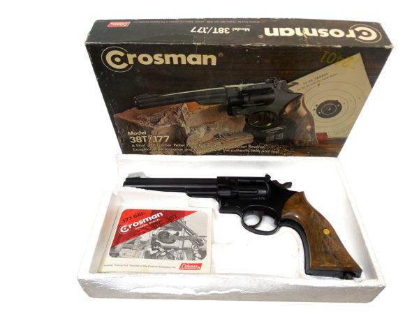 Crosman 38T Target C02 Revolver | SKU 6112