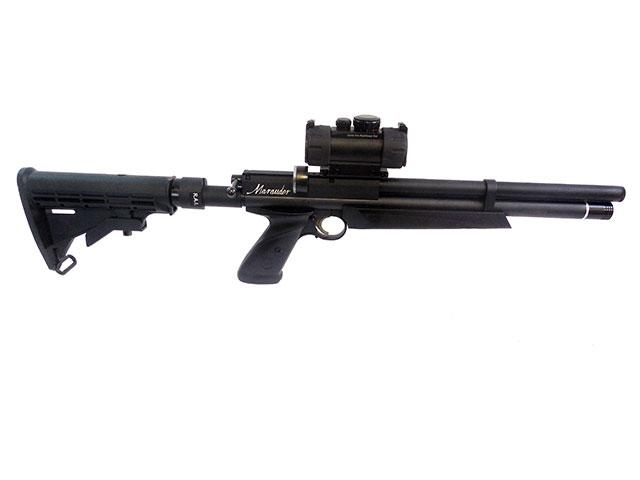 Custom Benjamin Marauder Pistol with AR-15 Tactical Customizations