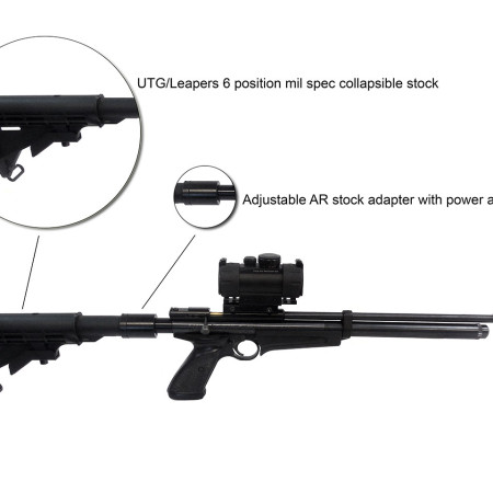AR-15 Kit for Crosman and Discovery Airguns