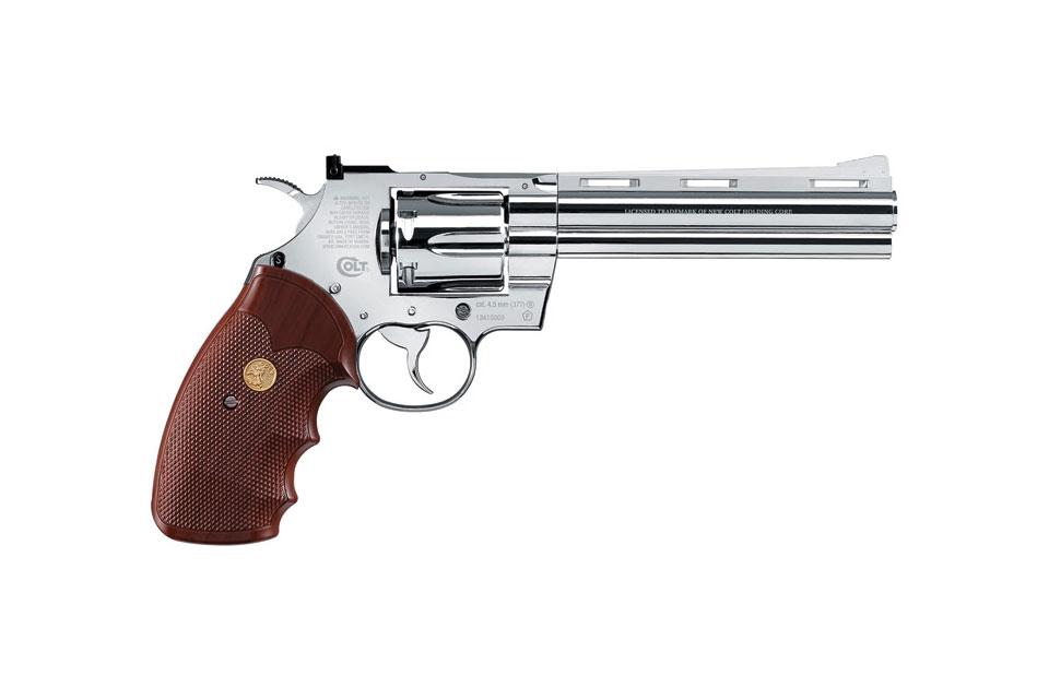Colt Python 357 Magnum CT6 Chrome