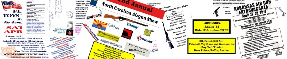 2016 Airgun Shows