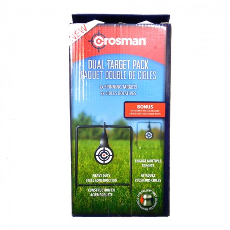 Crosman Steel Spinning Targets