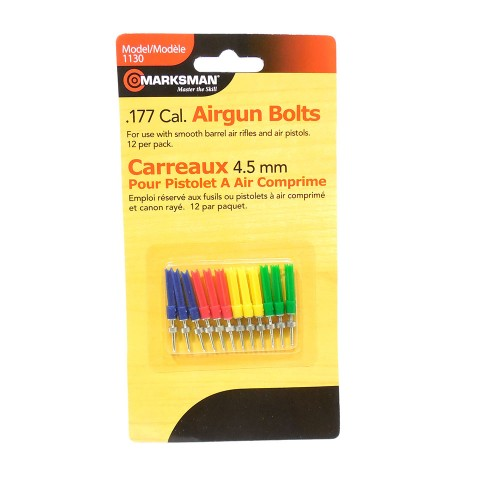 Marksman .177 Caliber Airgun Bolts