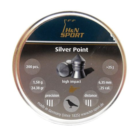 H&N Sport Silver Point .25