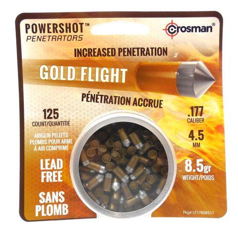Gold Flight Pellets