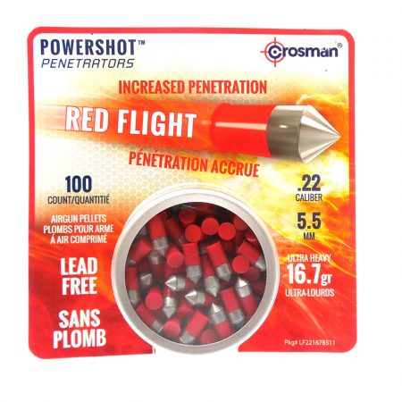 Red Flight Pellets