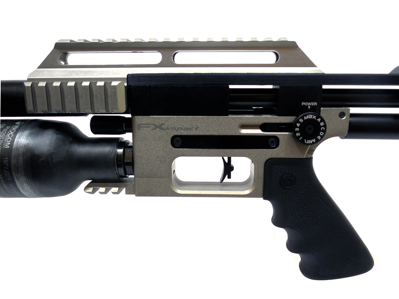 FX Impact Silver with Telescoping Shroud