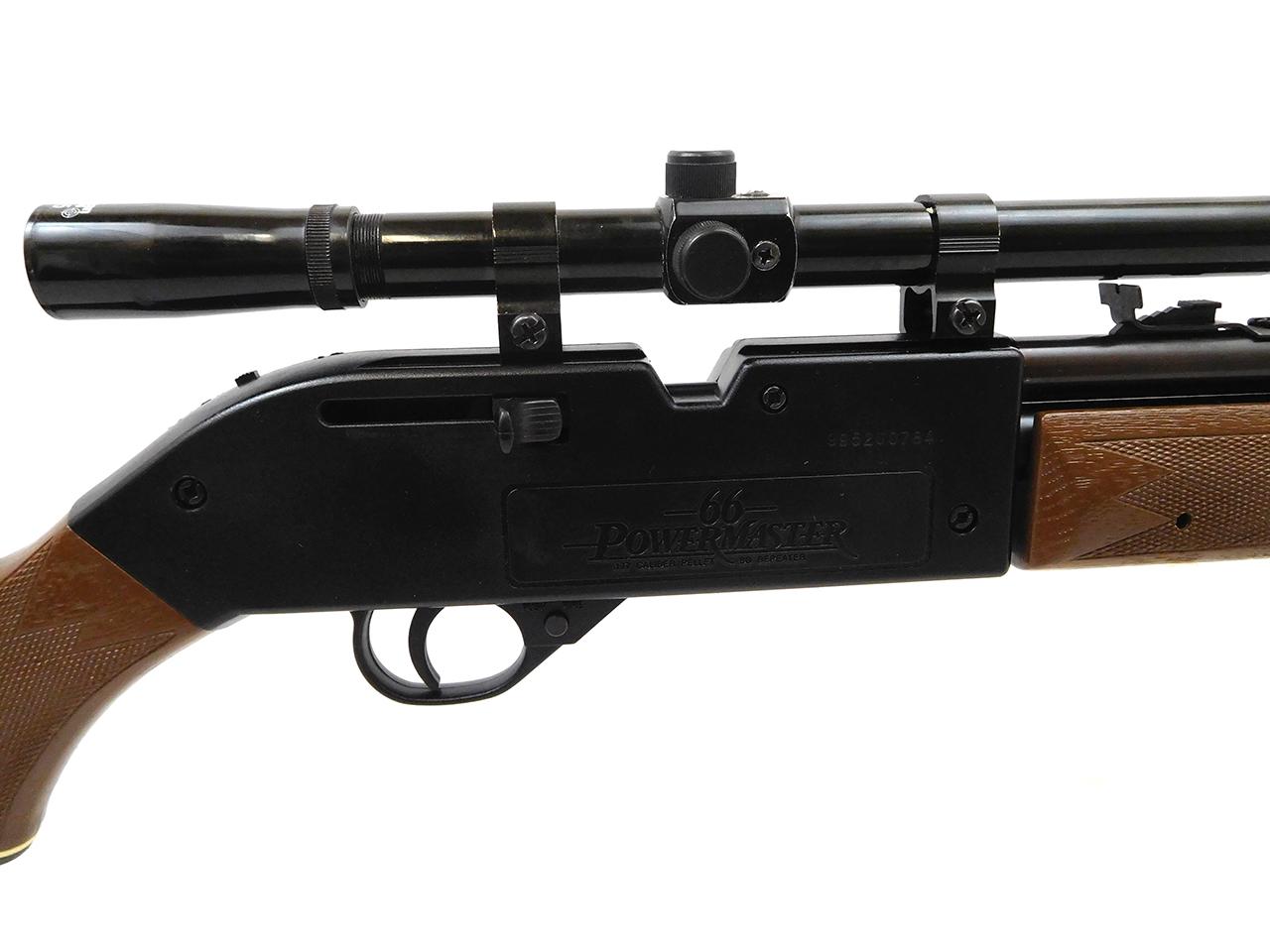 ... Crosman 66 Powermaster Air Rifle. 🔍. Prev