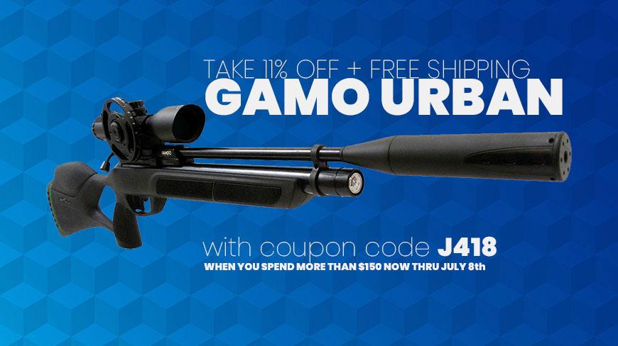 Gamo Urban PCP Pellet Rifle - Baker Airguns